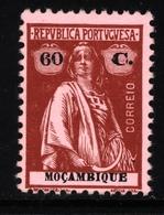 ! ! Mozambique - 1921 Ceres 60 C - Af. 231 - MH - Mozambique
