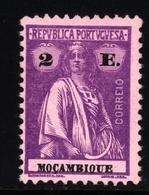 ! ! Mozambique - 1921 Ceres 2 E - Af. 233 - MH - Mozambique