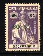 ! ! Mozambique - 1921 Ceres OVP 60 C - Af. 236 - NGAI - Mozambique