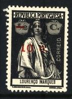 ! ! Mozambique - 1921 Ceres OVP 10 C - Af. 238 - MH - Mozambique