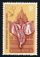 1962 30s Ballet Mint Light Hinged - Indonesia