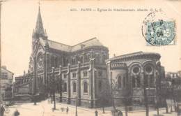 75 - PARIS - Eglise De Ménilmontant.  Abside - France