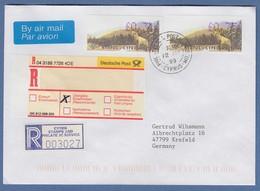 Zypern Amiel-ATM 1999, Mi-Nr. 2 Auflage B Werte 0,31 Und 0,75 Auf R-FDC Nach D - Unclassified