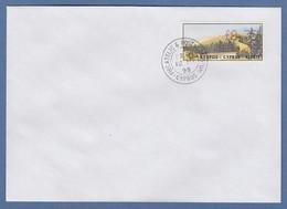 Zypern Amiel-ATM 1999 Mi-Nr. 3 Wert 0,75 Auf Blanco-FDC - Unclassified