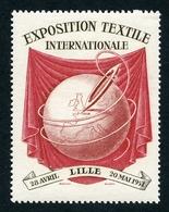 CINDERELLA : 3 VIGNETTES - LILLE, EXPOSITION TEXTILE INTERNATIONALE, 1951 - Cinderellas