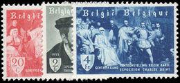 Belgium 1955 Emperor Charles V Exhibition Ghent Unmounted Mint. - Unused Stamps