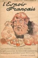 L'Espoir Français/1re Année/n° 42 - 23/11/1934 N° Spécial/L'impuissance Gouvernementale/Le Jeu De Massacre Parlementaire - Newspapers
