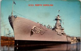 U S S North Carolina Battleship Memorial Wilmington North Carolina - Guerra