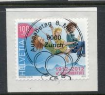Switzerland 2012 Girls On Swing CTO - Usados