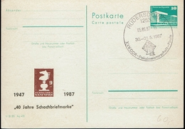 DDR 1987 - Rüdersdorf - Schach Chess Ajedrez échecs - Scacchi