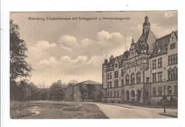 Ansichtskarte , Oldenburg , Amtsgericht , 1915 - Oldenburg