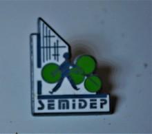 Rare Pin's SEMIDEP Arthus-Betrand - Arthus Bertrand