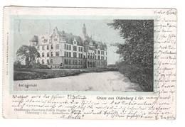 Ansichtskarte , Oldenburg , Amtsgericht , 1904 - Oldenburg