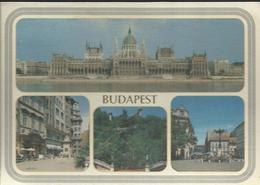 Budapest -  Direction La France, Timbre De 1987, Noszvaj. De La Motte-Kastély - Hongrie
