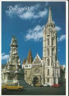 """Budapest - Matthias Church - Direction La France En 2004, Timbre """" Adhésion à L'Europe"""" - Hongrie"""