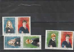 3 Paires Différentes Timbres N°4024 à 4026 Harry Potter De 2007 Neuf** - Unused Stamps
