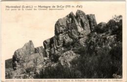 4KSA 17 CPA - MONTMELARD - MONTAGNE DE SAINT CYR - Autres Communes