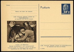 1954, DDR, P 56/03+04, Brief - Non Classés