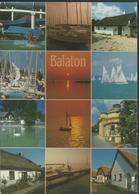 Greetings From Balaton ! - Direction La France En 1996, Timbre 50 Forint (Motif Décoratif) - Hongrie