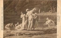 LES BAIGNEURS  VERNET - Paintings