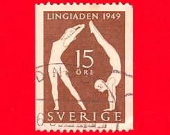 SVEZIA - Sverige - Usato - 1949 - Congresso Internazionale Di Educazione Fisica A Stoccolma - 15 - Svezia
