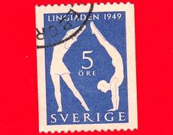 SVEZIA - Sverige - Usato - 1949 - Congresso Internazionale Di Educazione Fisica A Stoccolma - 5 - Svezia