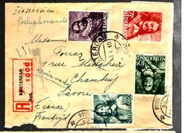 30059 - 6 TP Pour La France - Periodo 1891 – 1948 (Wilhelmina)