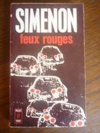 SIMENON: FEUX ROUGES / PRESSES POCKET, 1970 - Non Classés