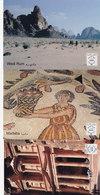 Jordan,Post Cards 5 Diff.x 5 Scan Recto/Verso:Aqaba,Jerash,Wadi Rom,Madaba,Petra, SCARCE,Red.Price(No Payapl& Skri - Jordan