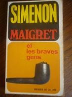 SIMENON: MAIGRET Et Les Braves Gens / PRESSES DE LA CITE, 1962 - Books, Magazines, Comics
