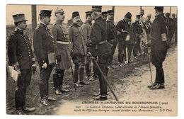MILITARIA - Grandes Manoeuvres Du Bourbonnais, Le Général Trémeau... - Manoeuvres
