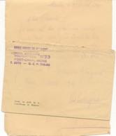 Mobilisation Avril 1940 - Enveloppe De La Croix Rouge Expédié De L'hôpital Auxiliaire N°23 - Pont-Canal-Mons - Guerre 40-45