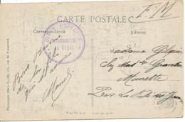 PK Ypres En Franchise - Intérieur Halles - Dépôt D'éclopés - Le Commandement Du Dépôt. - Oorlog 14-18