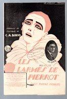 """Partition """"petit Format""""  LES LARMES DE PIERROT  (MPA PF 237) - Jazz"""