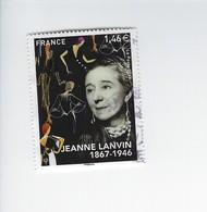 Personnalité Jeanne Lanvin 5170 Oblitéré 2017 - Francia
