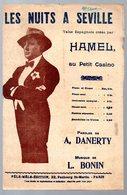 """Partition """"petit Format""""  LES NUITS A SEVILLE   1914  (MPA PF 238) - Jazz"""