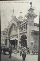 Cpa, ZARAGOZA Phototipia Thomas N° 94, Entrada Del Nuevo Mercado, écrite En 1912, Con Animacion, Animée, ESPAGNE - Zaragoza