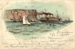 IllustrateurWilly Stuner Nordd Lloyd D Friedrich D Grosso Sidney Auslaufend RVBeaux Timbres 5C2 Cachet Bremen - Paquebote