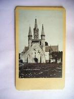 PHOTO CDV 19 EME PRES PENNARCH  BRETAGNE Cabinet CARLIERY FERDINAND CARLIER - Anciennes (Av. 1900)