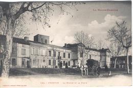 FRONTON - La Mairie Et La Poste - Altri Comuni