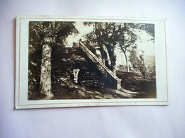 PHOTO CDV 19 EME CHAPELLE STE BARBE LE FAOUET   BRETAGNE Cabinet CARLIERY FERDINAND CARLIER - Anciennes (Av. 1900)