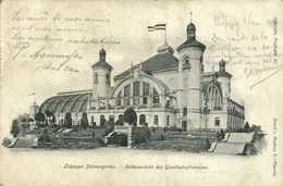 LeipzigerPalmengarten Seitnansicht Des Gesellschaftsauses RV - Leipzig