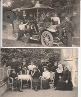 """44 - 2  Cartes Postales Anciennes De La Famille HARDIAUX A Nantes Trentemoult  """"Importateur De Tapioca"""" - Nantes"""