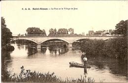 1I3  ---  16  SAINT-SIMON    Le Pont Et Le Village De JUAC - France
