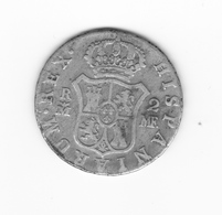 2 Réales 1796 Madrid MF  TB à TTB - Colecciones