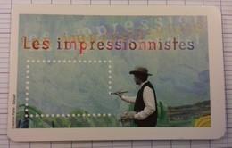 CARNET TIMBRES FRANCE COMPLET LES IMPRESSIONNISTES - Sonstige
