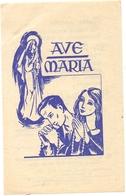 Devotie - Devotion - Ave Maria - Brugge 1953 - Imágenes Religiosas