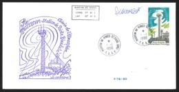 TAAF - St-Paul & Amsterdam - Station De Pointe Bénédicte + Sign. Lavergne Oblit. 1e Jour Martin-de-Viviès 1/1/1996 - Terres Australes Et Antarctiques Françaises (TAAF)