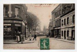 - CPA GACÉ (61) - Rue De Lisieux 1907 (CHAUSSURES AU PETIT PARIS - CAFÉ LEDEVIN) - Collection Bunel 140 - - Gace