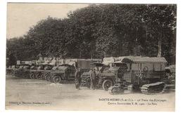 MILITARIA - SAINTE MESME 19ème Train Des Equipages, Centre D'instruction... - War 1914-18